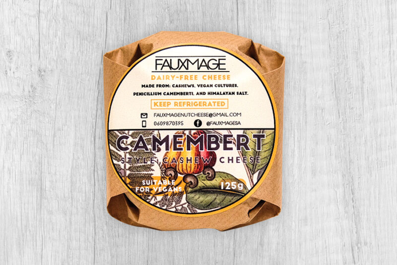 Dairy-Free Camembert by Fauxmage